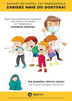 Nienarażaj innych nainfekcje