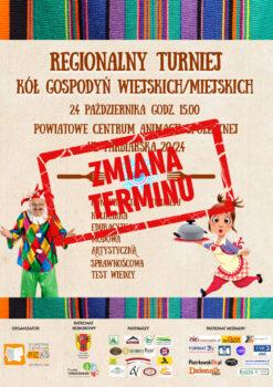 Regionalny Turniej KGW/KGM odwołany
